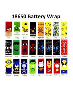 Pellicola Wrap per Batterie 18650 Termo Retrattile Stringente