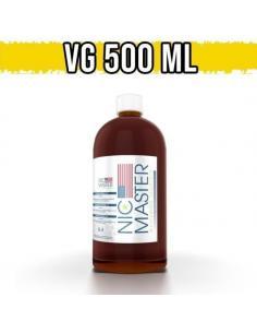 Glicerina Vegetale 500ml Base Neutra Nic Master 100% VG