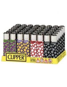 Clipper Micro Patterns Ping F - Conf. 48 Pezzi
