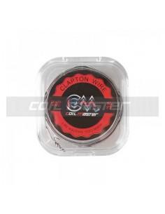 Filo Resistivo K Clapton Wire 26+30 AWG Coil Master da 3mt per gli Atomizzatori Rigenerabili delle Sigarette Elettroniche