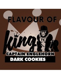 Dark Cookies (Ex Captain Englehorn) Aroma Concentrato Flavour of King 10 ml per Sigarette Elettroniche