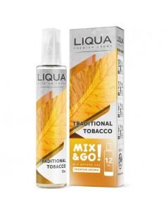 Traditional Tobacco Aroma Scomposto Liqua Liquido Concentrato da 12ml Mix&Go per Sigarette Elettroniche