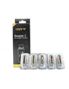 Resistenze Aspire Breeze 2 Coil per Sigarette Elettroniche 5 Pezzi