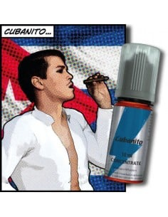 Cubanito T-Juice Aroma Concentrato 30ml Liquido per Sigaretta Elettronica Fai Da Te