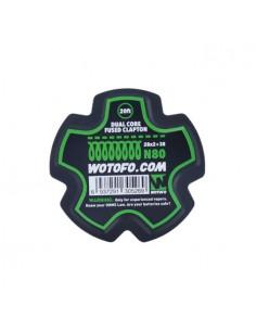 Dual Core Fused Clapton Wire 28*2+38 N80 Wotofo Filo Resistivo per Atomizzatori Rigenerabili