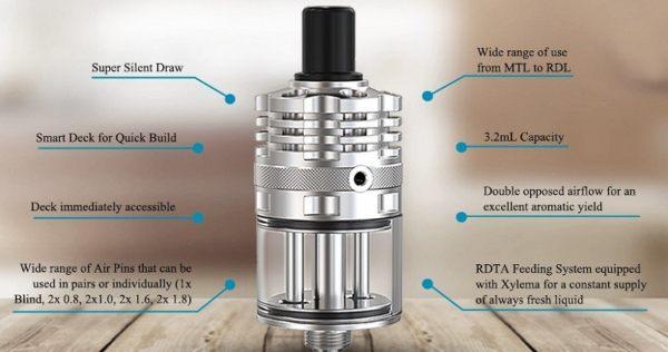 Ripley RDTA Atomizzatore sigaretta elettronica