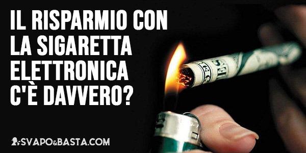 Il risparmio con la sigaretta elettronica c'è davvero?
